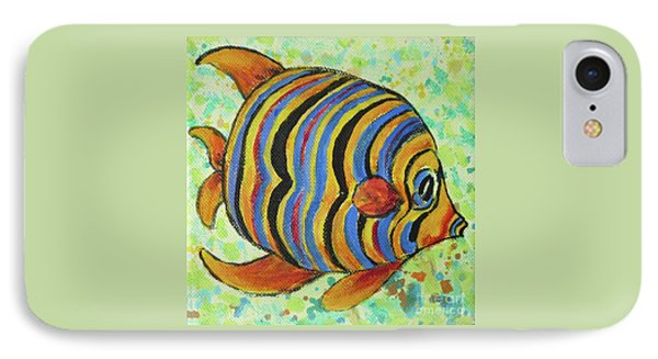 Tropical Fish Series 4 Of 4 IPhone Case by Gail Kent