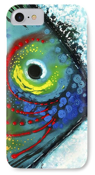 Tropical Fish Phone Case by Sharon Cummings