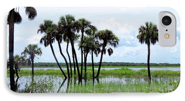 Tropical Flooding Phone Case by Rosalie Scanlon