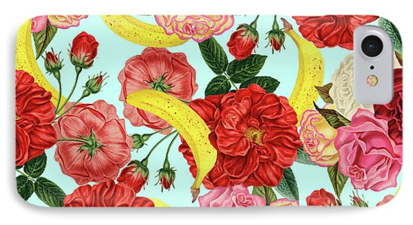Tropical Forest IPhone Case by Uma Gokhale
