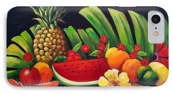 Tropical Fruit IPhone Case