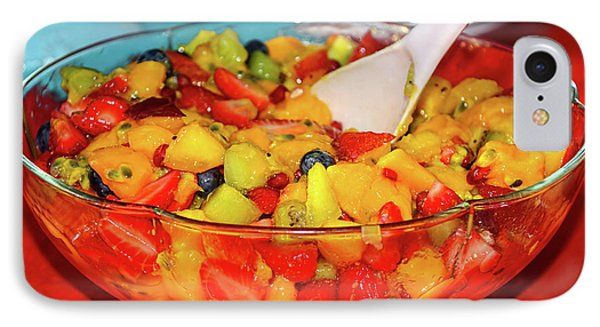 Tropical Fruit Salad By Kaye Menner IPhone Case by Kaye Menner
