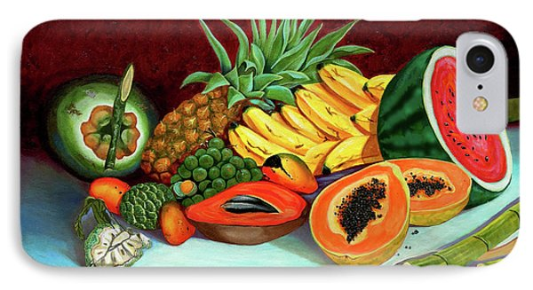 Tropical  Fruits IPhone Case by Jose Manuel Abraham