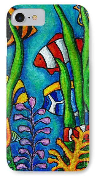 Tropical Gems Phone Case by Lisa  Lorenz