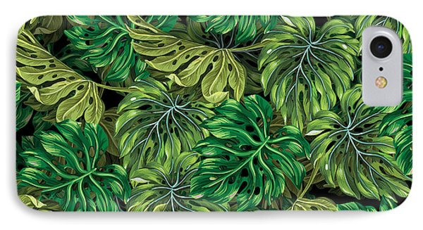 Tropical Haven 2 IPhone Case by Mark Ashkenazi