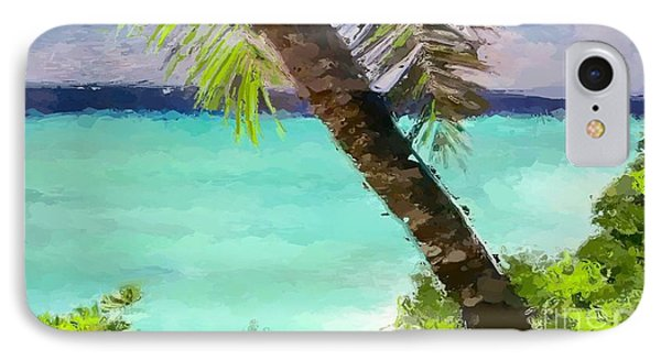Tropical Hawaiian Palm IPhone Case