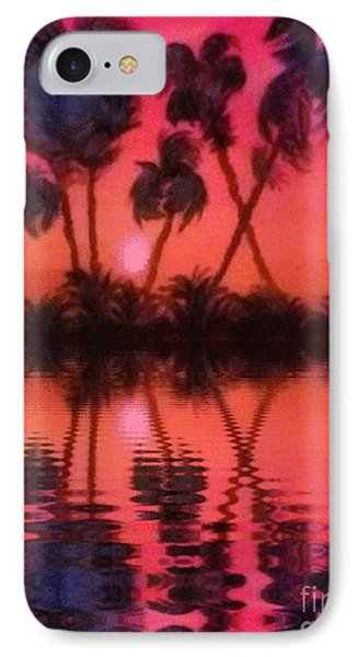 IPhone Case featuring the painting Tropical Heat Wave by Holly Martinson