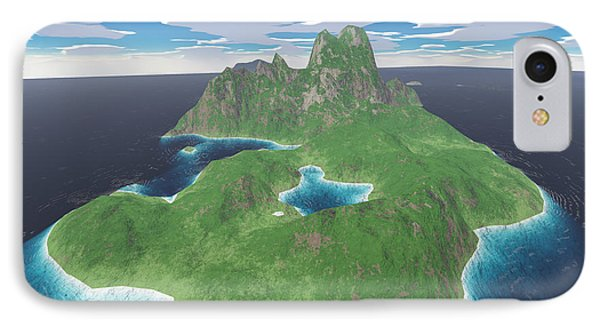 Tropical Island Phone Case by Gaspar Avila
