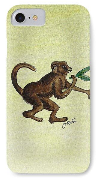 Tropical Monkey 2 Phone Case by John Keaton