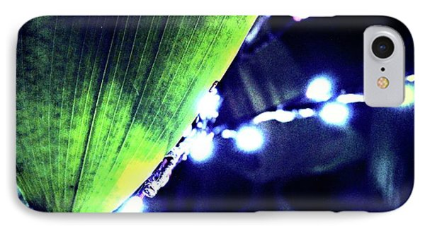 IPhone Case featuring the digital art Tropical Night by Mindy Newman