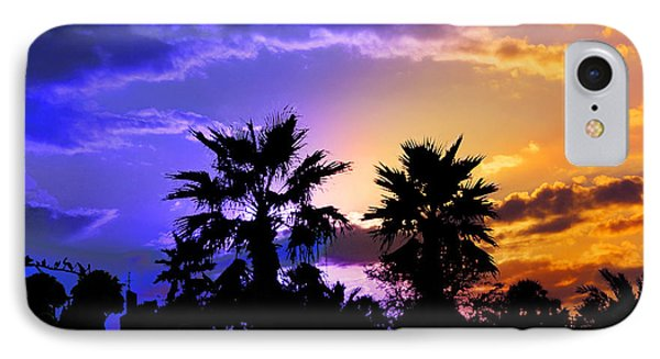 IPhone Case featuring the photograph Tropical Nightfall by Francesa Miller