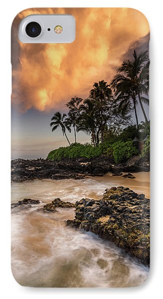 IPhone Case featuring the photograph Tropical Nuclear Sunrise by Pierre Leclerc Photography