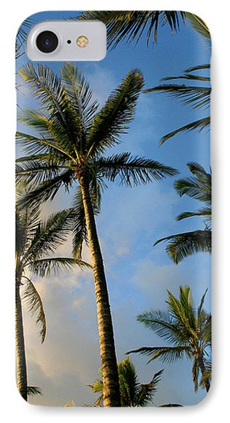 Tropical Palm Trees Of Maui Hawaii Phone Case by Pierre Leclerc Photography