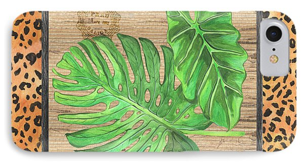 Tropical Palms 2 IPhone Case by Debbie DeWitt