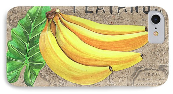 Banana iPhone 7 Case - Tropical Palms 4 by Debbie DeWitt