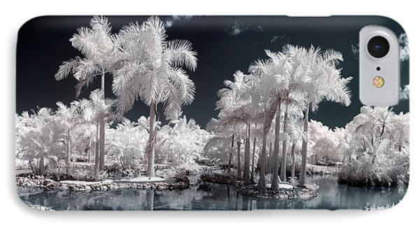 Tropical Paradise Infrared IPhone Case by Adam Romanowicz