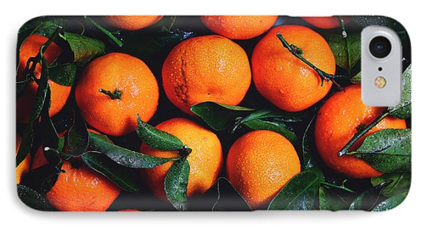 Tropical Poncan Oranges IPhone Case by Fbmovercrafts