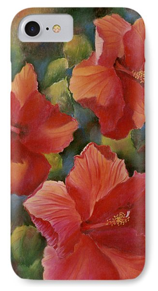 IPhone Case featuring the painting Tropical Punch by Ann Peck