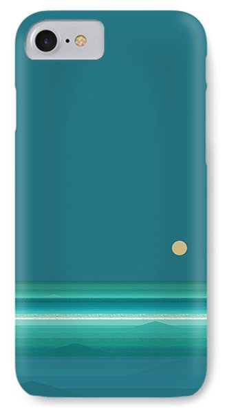 Tropical Sea IPhone Case by Val Arie