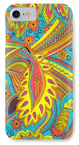 Tropical Sizzle Phone Case by Ramneek Narang
