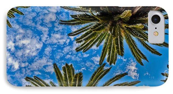 Tropical Skies IPhone Case by Az Jackson