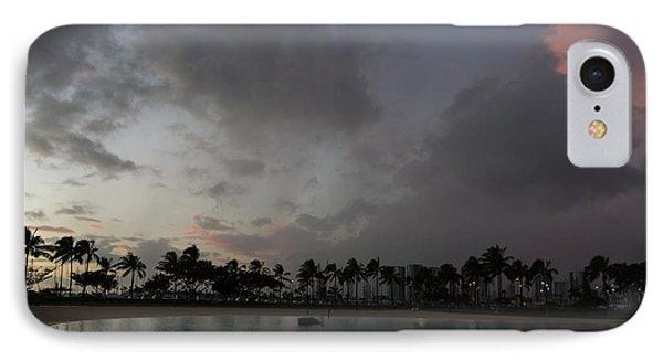 Tropical Sky And Palm Trees - Hawaiian Sunset IPhone Case