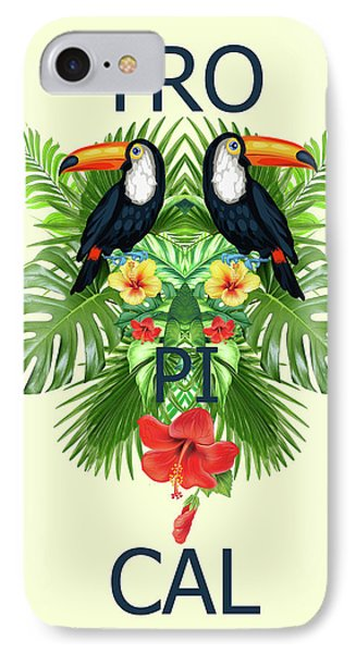 Tropical Summer  IPhone Case