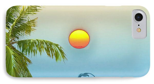 Tropical Sun Phone Case by Bill Cannon