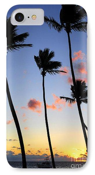 Tropical Sunrise Phone Case by Elena Elisseeva