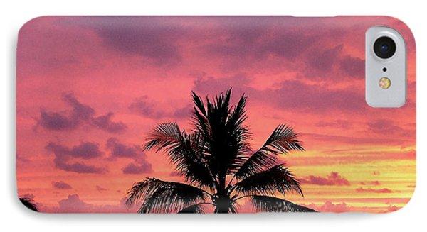 Tropical Sunset IPhone Case by Karen Nicholson