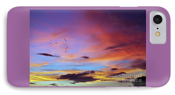 Tropical North Queensland Sunset Splendor  IPhone Case by Kerryn Madsen-Pietsch