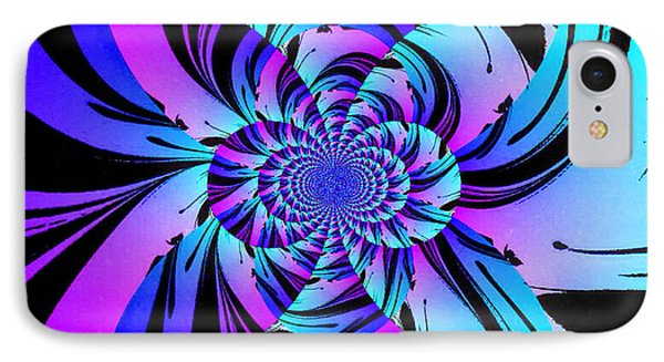 IPhone Case featuring the digital art Tropical Transformation by Kathy Kelly