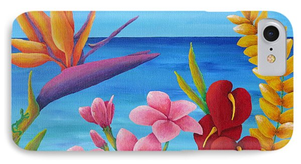 Tropical View IPhone Case by Pamela Allegretto