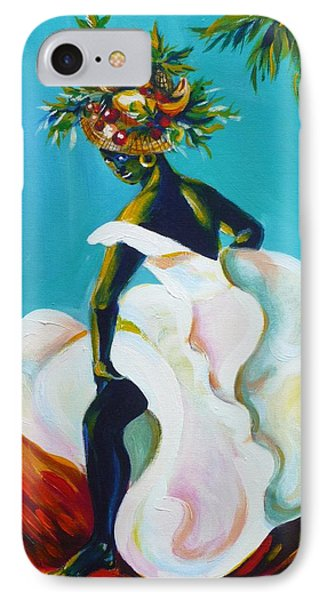 IPhone Case featuring the painting Tropicana by Anna  Duyunova