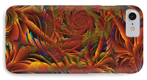 IPhone Case featuring the digital art Tropicana Fantasy by Richard Ortolano