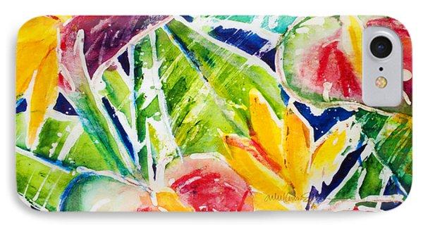 Tropics - Floral Phone Case by Julie Kerns Schaper - Printscapes
