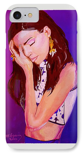 Troubled IPhone Case by Janet Garcia