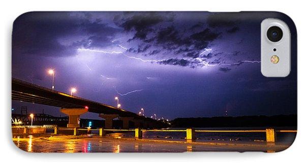 Troubled Skies IPhone Case by Joe Scott