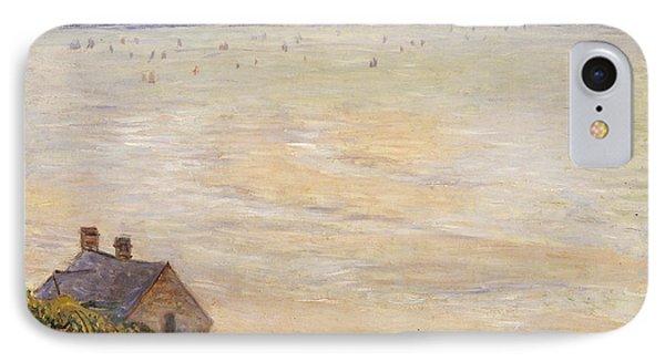 Trouville At Low Tide IPhone Case by Claude Monet