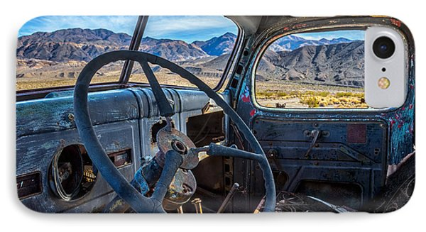 Truck Desert View IPhone 7 Case by Peter Tellone