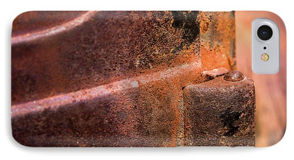 IPhone Case featuring the photograph Truck Door Hinge by Onyonet  Photo Studios