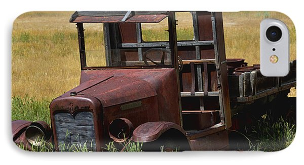 IPhone Case featuring the photograph Truck Long Gone by Kae Cheatham