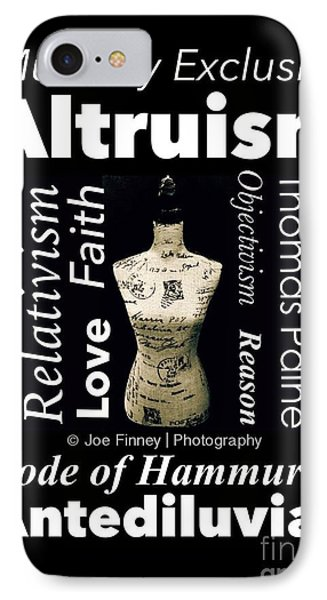 IPhone Case featuring the photograph True Altruism - No.9188 by Joe Finney