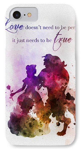 True Love IPhone Case by Rebecca Jenkins