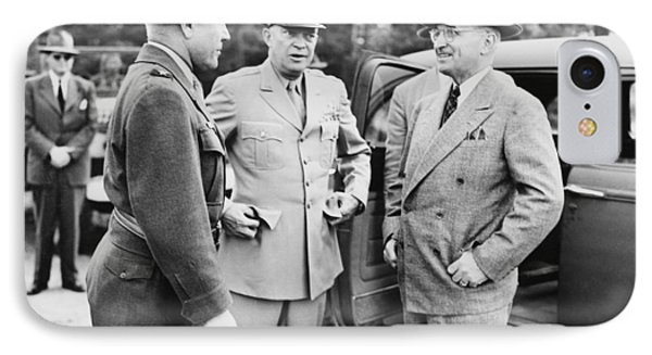 Truman Eisenhower And Hickey  IPhone Case