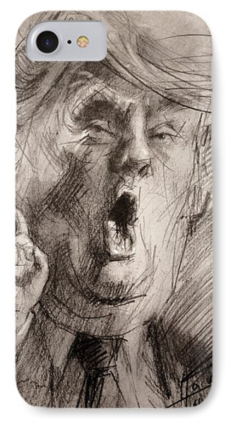 Trump A Dengerous A-hole IPhone Case by Ylli Haruni