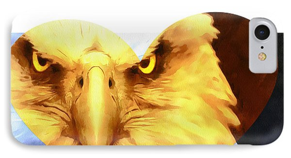 Trumped Gold On White IPhone Case by Catherine Lott