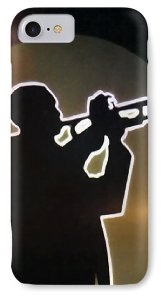 Trumpet - Classic Jazz Music All Night Long Phone Case by Christine Till