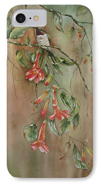 Trumpet Nectar Phone Case by Mary McCullah