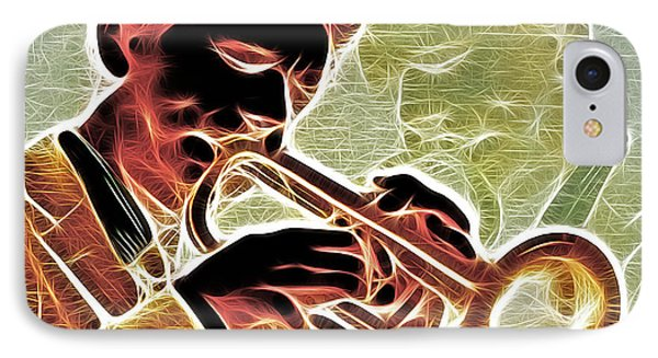 Trumpet Phone Case by Stephen Younts